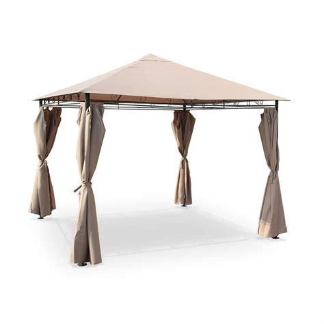 terrassendächer aluminium tonnelle pliante pas cher luxe tonnelle de jardin pergola