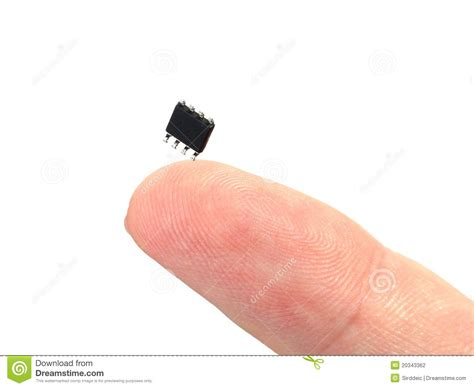 miniaturization of integrated circuits using nanotechnology miniaturization stock photo image of diode component 20343362