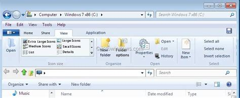 ribbon windows windows 8 ribbion ui explorer for windows 7