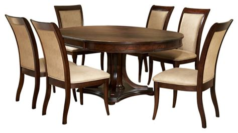 Marseille Dining Room Furniture by Steve Silver Marseille 7 Pedestal Dining Room Set In