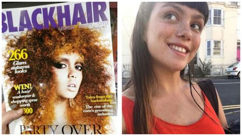 xtreme hairstyles magazine white british model apologizes for appearance on the cover