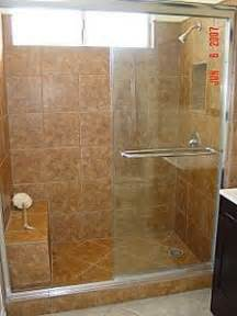 Walk in shower with bench