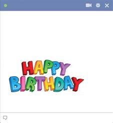 Happy Birthday Wishes In Different Fonts Happy Birthday In Colorful Letters Symbols Emoticons