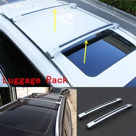 Nissan Murano Luggage Rack by 2pcs Silver Luggage Carrier Roof Rack Cross Rack For