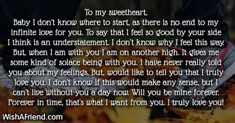 Letter To My Sweetheart Letters For Page 2