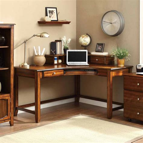 Office Study Desk Jacqueline Corner Curved Office Computer Study Desk With