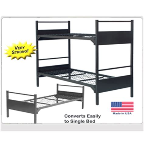 what is the most durable bedding institutional bunk bed extreme duty durable metal bunk