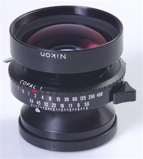 chambre 4x5 objectif nikon nikkor w 5 6 210mm pour chambre 4x5
