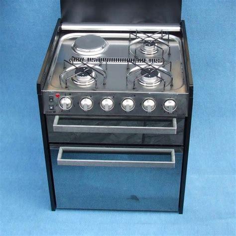 Grill Cooktop Caravansplus Smev 401 Mirror Door Stove Grill Oven