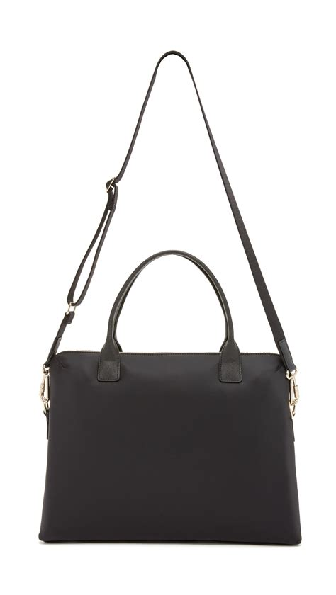 Kate Spade Daveney Laptop Bag Black lyst kate spade new york 15 quot daveney laptop bag black
