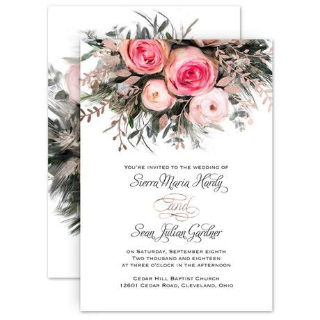 Where To Do Wedding Invitations by Ethereal Garden Foil Invitation Invitations By
