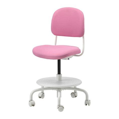 sedie scrivania bambini vimund sedia da scrivania per bambini rosa ikea