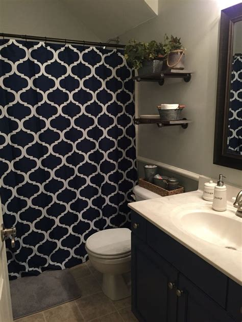 navy blue bathroom ideas best blue brown bathroom ideas on pinterest bathroom color