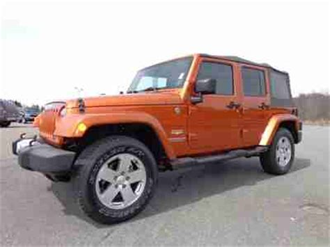 2010 Jeep Wrangler Mpg Buy Used 2010 Jeep Wrangler Unlimited 3 8l 4x4 Low