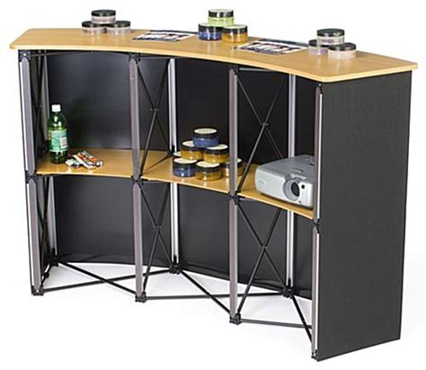 Pop Up Counter Pop Up Table Event Desk Belum Termasuk Printing this folding table is easily portable pack it up and take it on the road in just minutes this