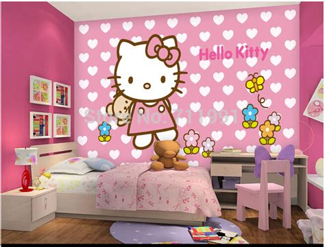 wallpaper hello kitty for room online buy wholesale kitty backgrounds from china kitty