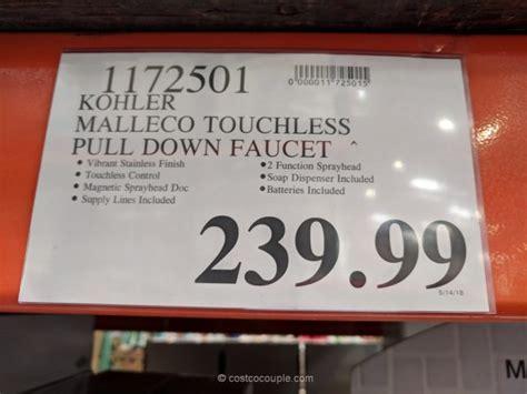 kohler malleco pull kitchen sink faucet kohler malleco touchless pull kitchen faucet