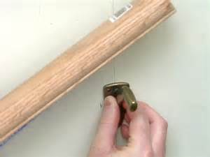 how to install a banister how to install a stairway handrail how tos diy