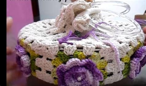 porta prato porta pratos flores em croch 234 passo a passo bigtudo