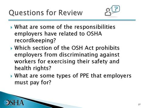 what is section 11 c of the osh act introduction to osha english gt slide 27