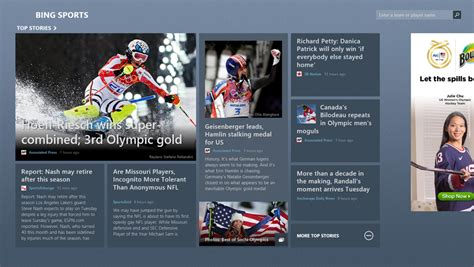 bing sports testing for accessibility in windows store apps windows