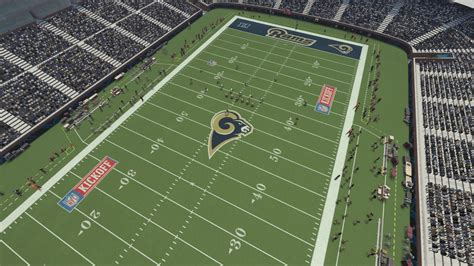 rams to move moving the rams to los angeles in madden nfl 16