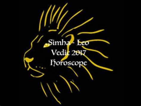 leo simha 2017 annual general vedic astrology horoscope