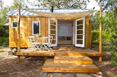 vina s tiny house living the grid in 140 square