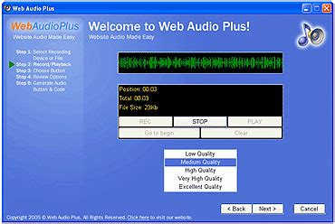 software for recording from web web audio recording software web audio software