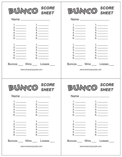 free bunco scorecard template cricket score sheet free create edit fill and