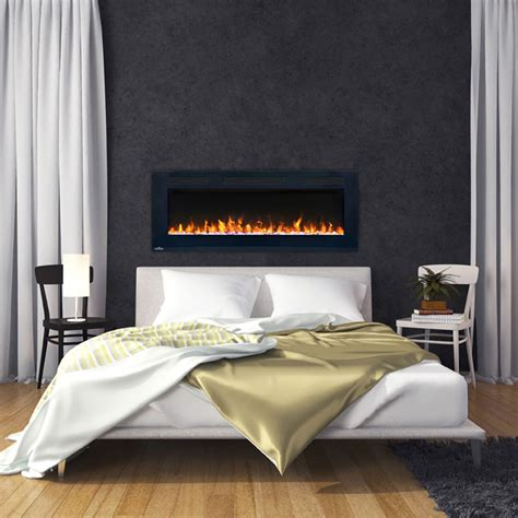 napoleon 50 electric fireplace napoleon 50 in wall mount electric fireplace nefl50fh