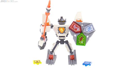 Lego 70365 Nexo Knights Battle Suit Axl two more lego nexo knights battle suits reviewed axl lance