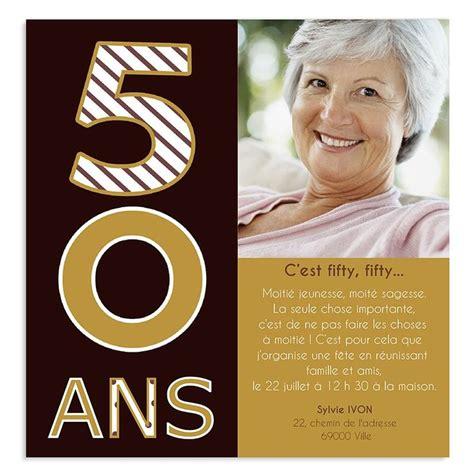 1000 id 233 es sur le th 232 me invitation anniversaire 50 ans sur