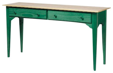 Uttermost Genesis Console Table Green Solid Pine Sofa Table 171419 Console