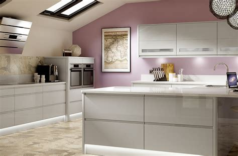 Light Grey Kitchen Modern Style Kitchens Uk Holborn Range Benchmarx Benchmarx Kitchens Joinery