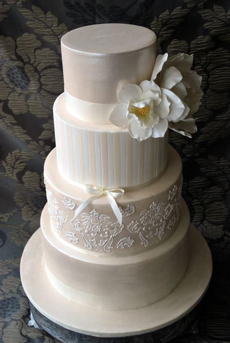 New Four Tier Wedding Cake Four Tier Wedding Cake I Made For My Niece Original Idea
