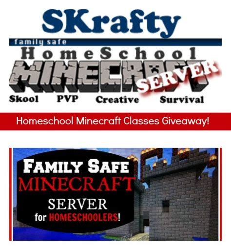 Minecraft Giveaway 2014 - minecraft giveaway skrafty homeschool minecraft classes 5 winners free