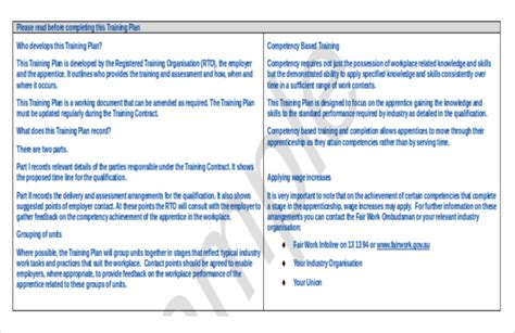 training strategy template 11 free word pdf documents