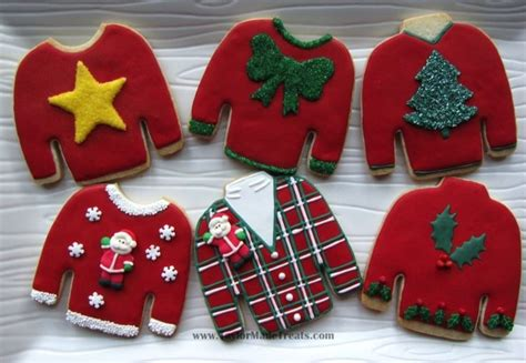 Cookie Sweater southern blue celebrations cookie ideas