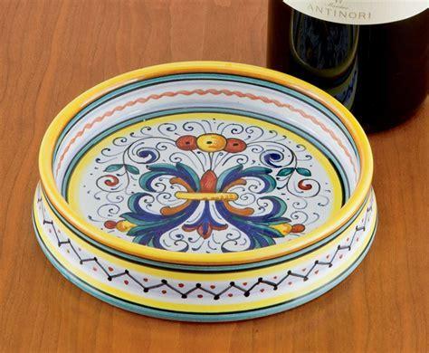 Deruta Wine Coaster