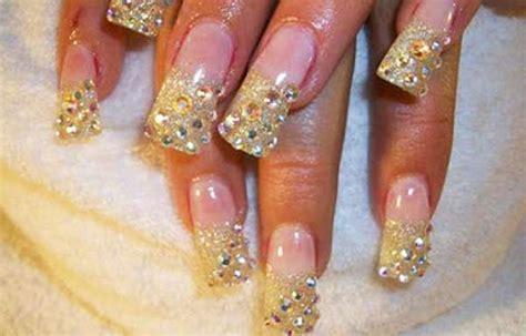 imagenes de uñas decoradas rojo y dorado u 241 as decoradas color dorado u 241 as decoradas club