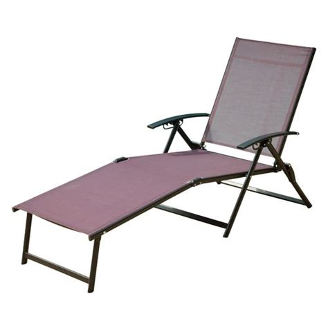 Folding Chaise Lounge Academy Mosaic Folding Sling Chaise Lounge