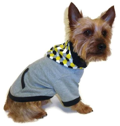pattern dog hoodies dog clothes sewing pattern 1761 pullover hoodie dog