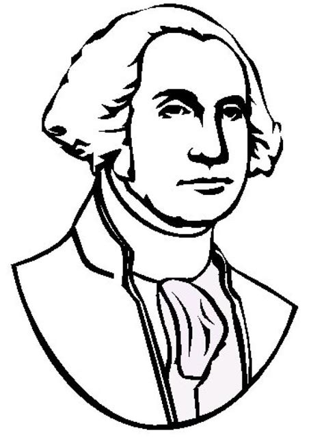 george washington coloring pages for kids coloring home