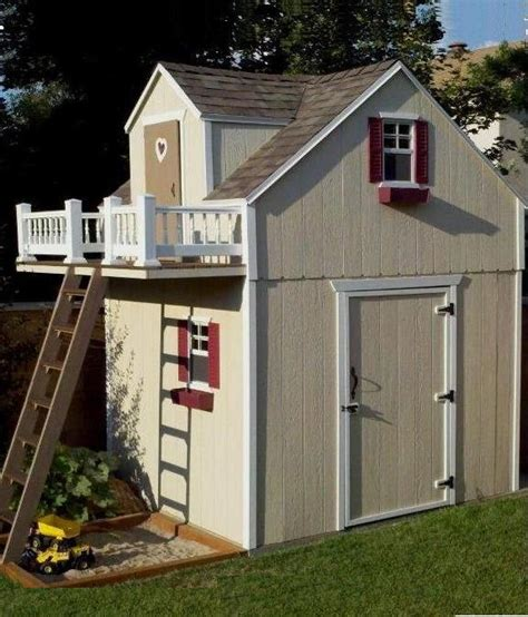 Playground Storage Sheds by 25 Best Ideas About Shed Playhouse On