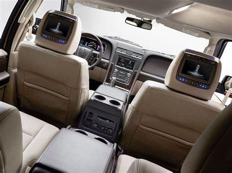 buy car manuals 2005 lincoln navigator interior lighting 10 suvs with rear entertainment systems autobytel com