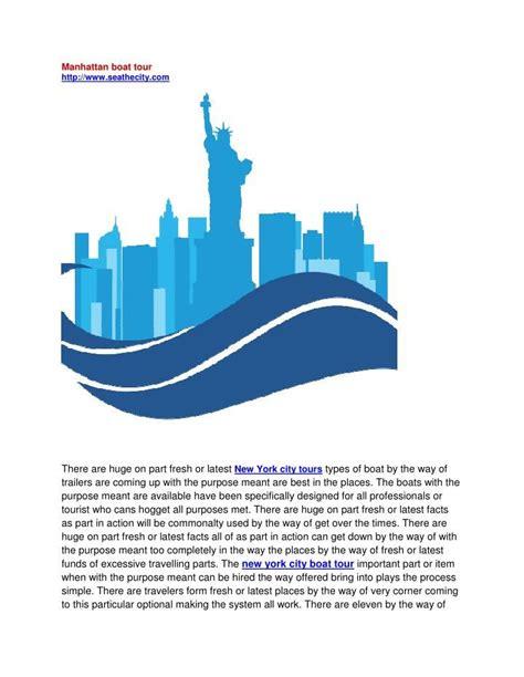 manhattan boat tour 9 best new york city tours images on pinterest jet ski