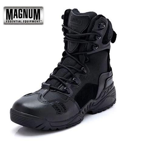 Sepatu Magnum Army Tactical Boots tactical magnum combat outdoor sport army boots desert botas hiking autumn shoes
