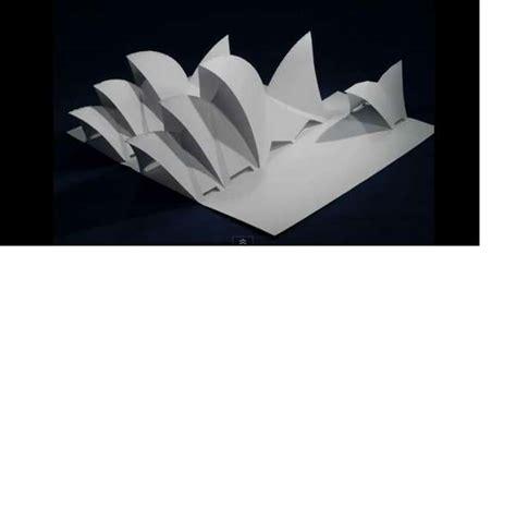 Origami C - iconic landmark origami origamic architecture by yee