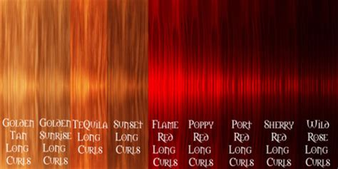 types of red color different types of red hair color in 2016 amazing photo